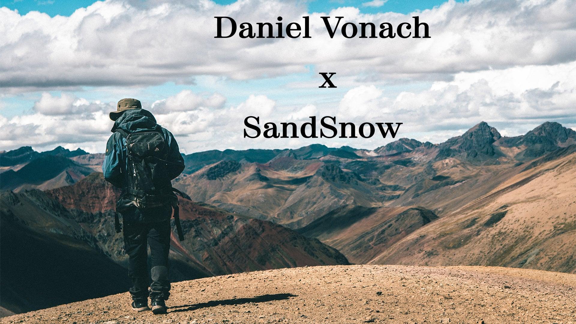 Daniel Vonach – Sandboard Weltmeister