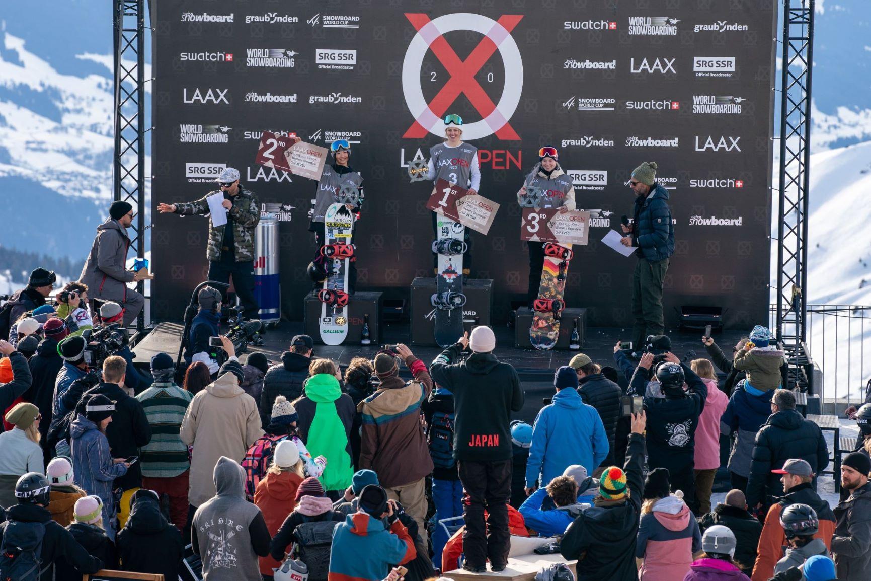 Laax Open: Julia Marino und Seb Toots gewinnen Titel