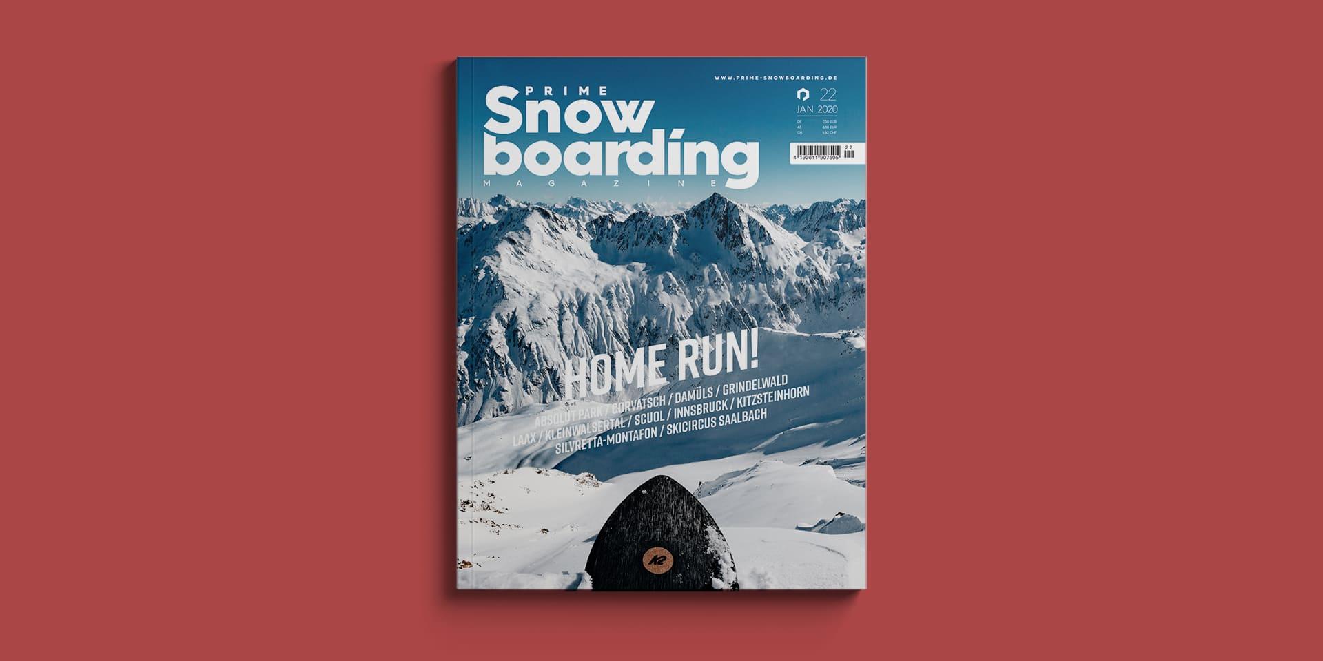 Prime Snowboarding Magazine Ausgabe 22   Home Run