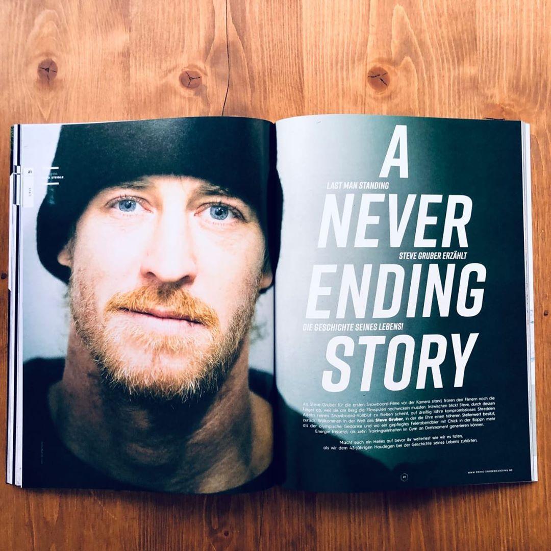 Steve Gruber – A never ending story