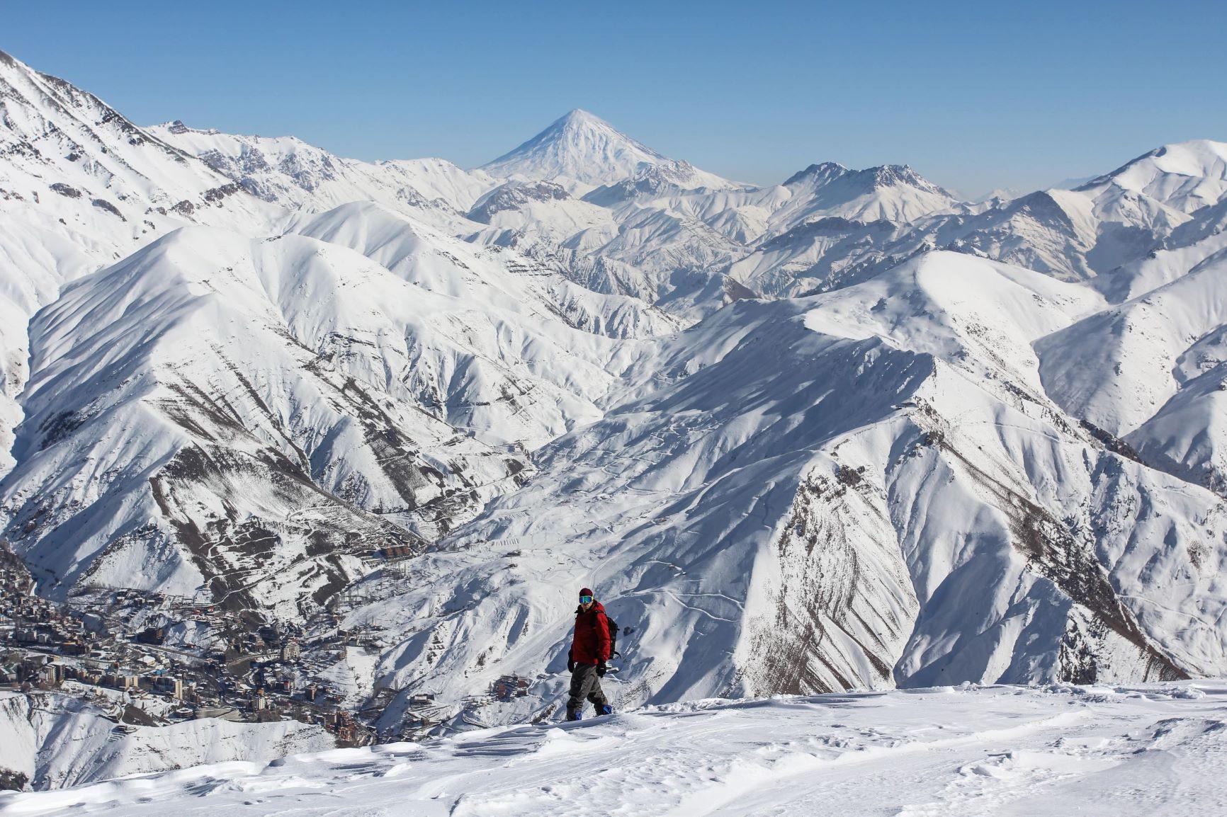 Snowboarden im Iran