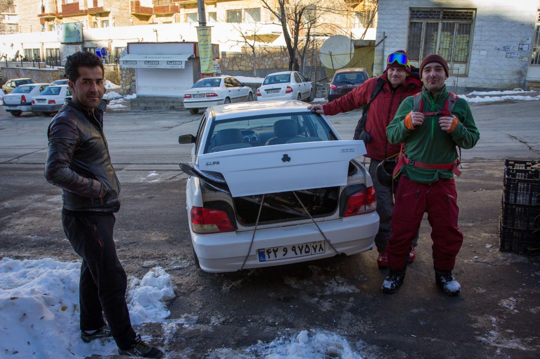 Menke, Schallameier und Staab im Iran