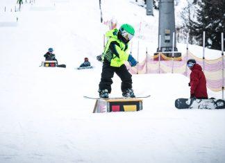 Kids Snowboard Tour im Crystal Ground