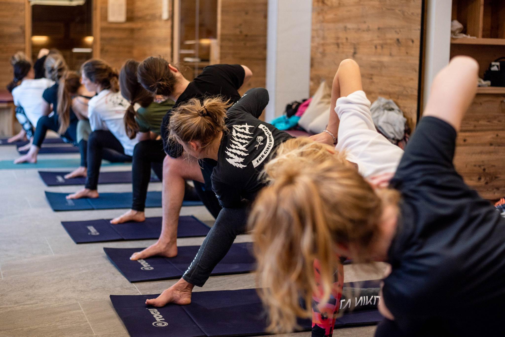 Neben Yoga sind weitere Off-Snow Aktivitäten im Rahmen der Slay Days geplant. - Foto: Miriam Lotte