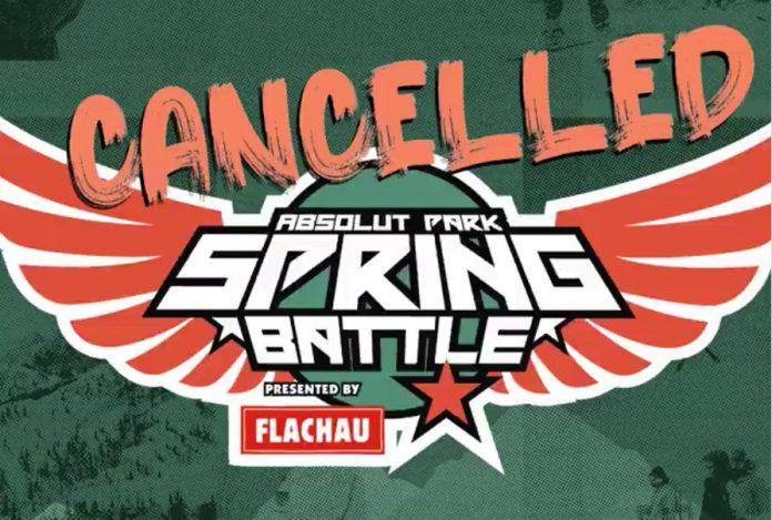 Spring Battle 2020 abgesagt!