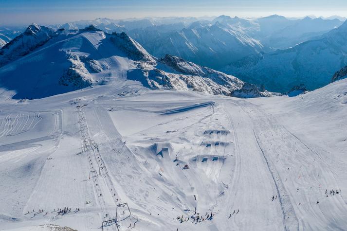 Gletscher Opening