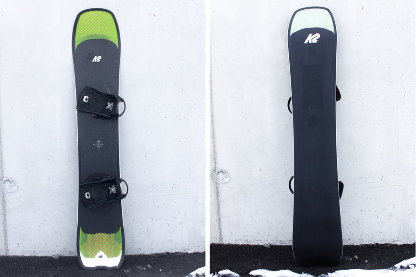 K2 Clicker vs. Burton Step on: mein Test-Setup K2 Clicker X HB