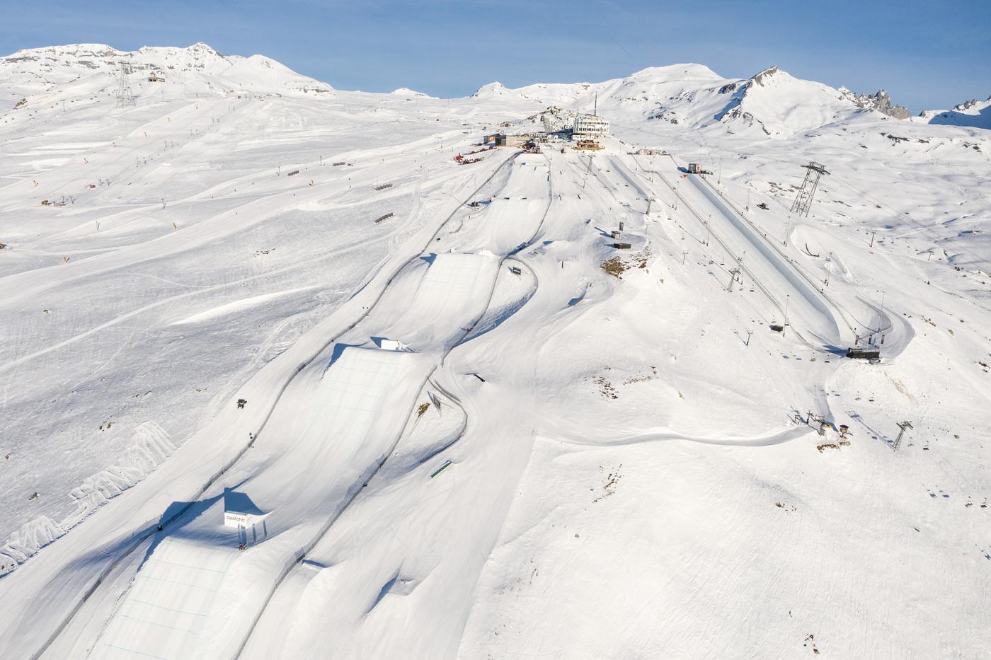 LAAX Open 2021 @ Snowpark LAAX | Falera | Graubünden | Schweiz