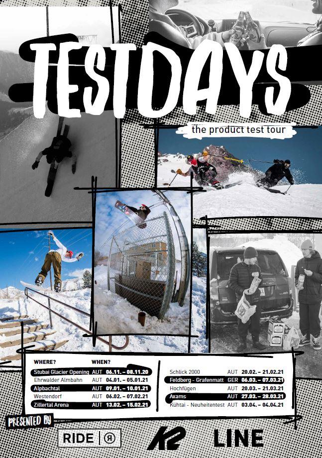 K2 und Ride Testdays