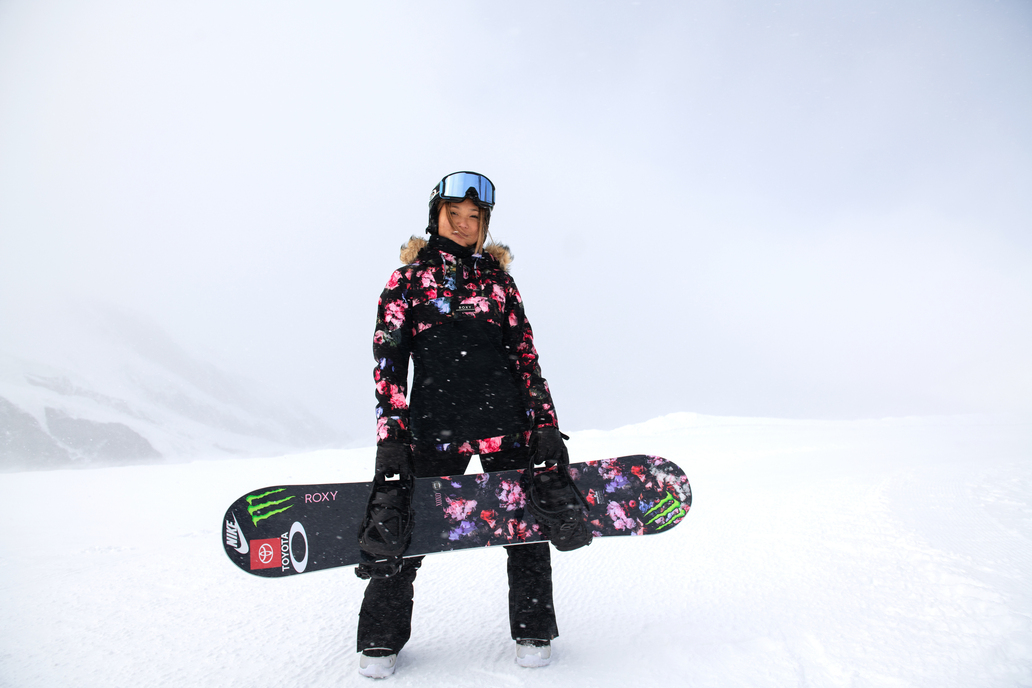Chloe Kim neu auf Roxy!