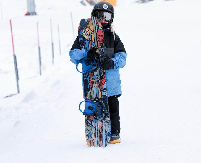 Kindersnowboard-Test