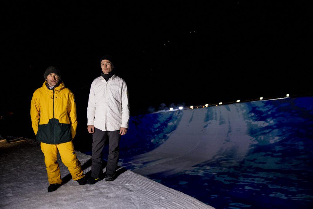 Late Night Show Olympiasieger Gian Simmen und Iouri Podladtchikov