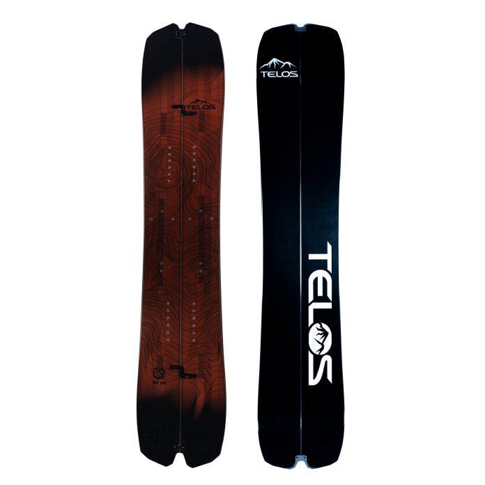 DST Freeride Splitboard 2022 Telos Snowboards
