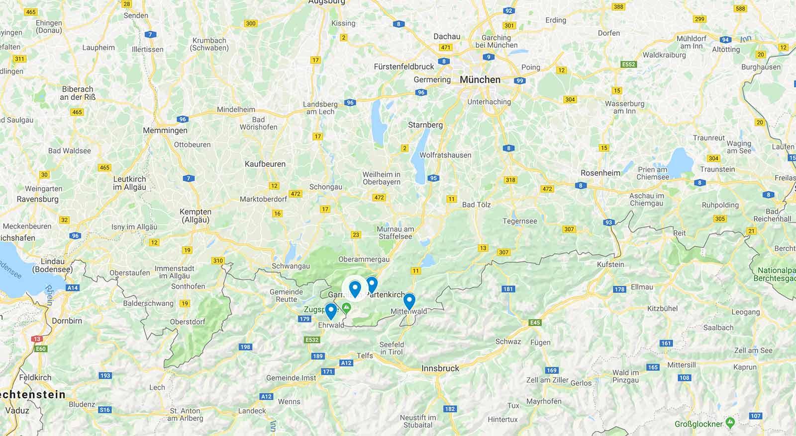 top_snow_card_zugspitze_ski_saisonkarte_2021-2022_Skigebiete_uebersicht