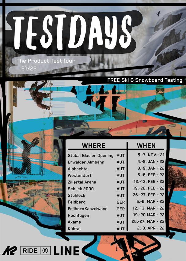 K2 Ride Testdays